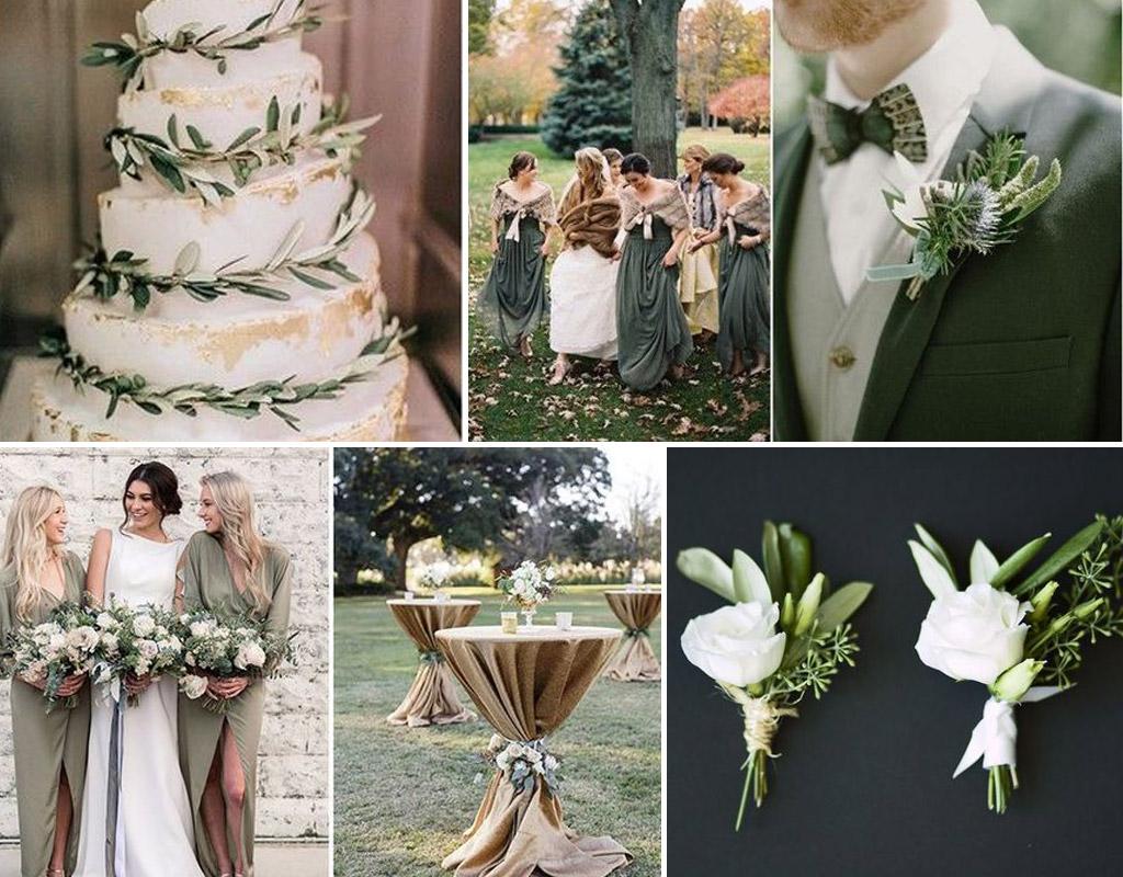 matrimonio verde oliva