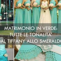 matrimonio verde tiffany smeraldo