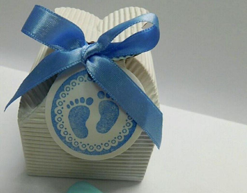 bomboniera battesimo scatolina portaconfetti