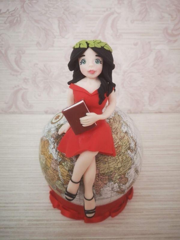 cake topper laurea personalizzato