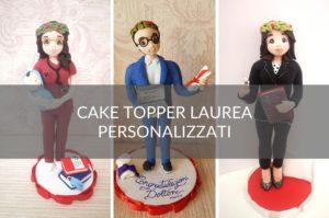 cake topper laurea personalizzati