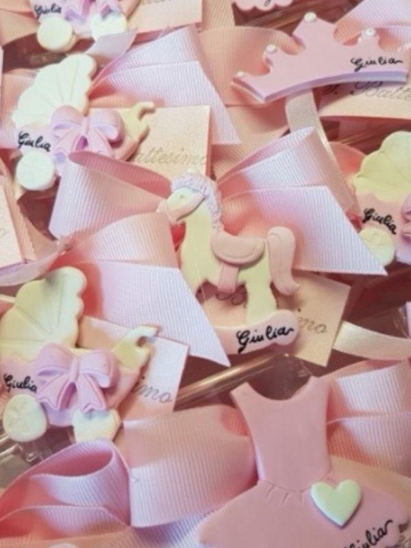 bomboniere miste rosa
