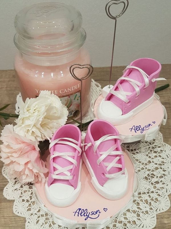 bomboniera scarpine converse rosa