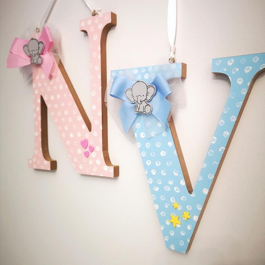 decorazione cameretta iniziale bambino