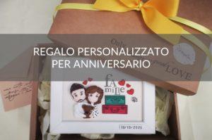 regalo personalizzato per anniversario