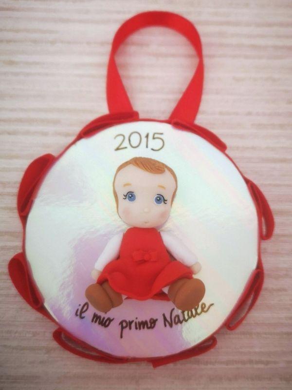 decorazione natalizia personalizzata con bambino