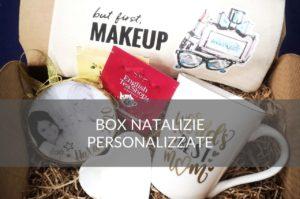 box natalizie regalo personalizzato