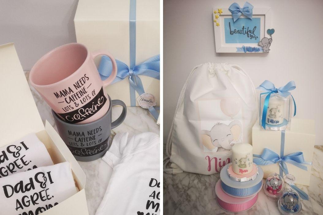 tazza candela accessori cameretta neonato