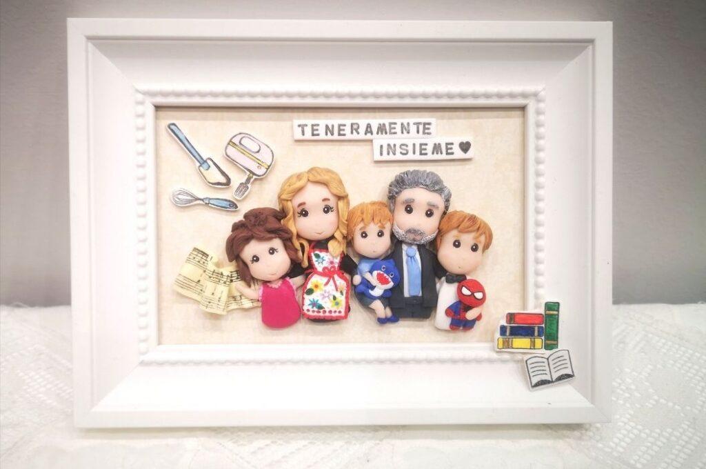 quadretto regalo festa del papa famiglia